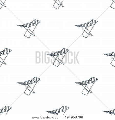 Drying for clean linen. Dry cleaning single icon in cartoon style vector symbol stock illustration .