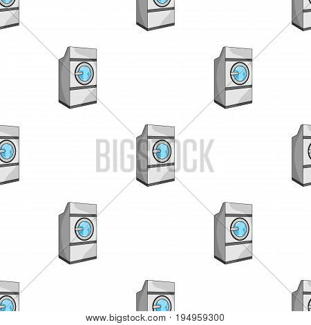 Industrial washing machine. Dry cleaning single icon in cartoon style vector symbol stock illustration .