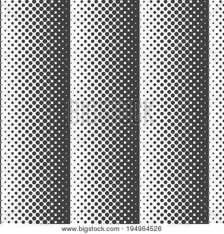 dark gray halftone vertical striped pattern background vector illustration image