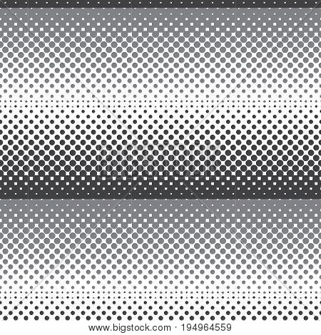 silver shade halftone horizontal striped pattern background vector illustration image