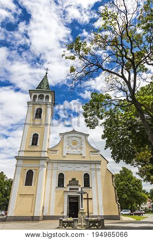 Church Of The Birth Of Our Lady In Michalovce, Slovakia