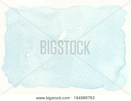 faded light blue tones abstract watercolor background