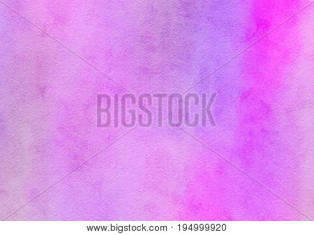 A digitally painted watercolour background paper texture with blended hues of lilac and pink.