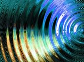 Vibration swirl abstract. poster