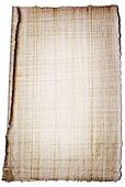 Real papyrus sheet of paper as writing background. poster