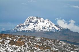 Mawenzi Mountain View From Kilimanjaro