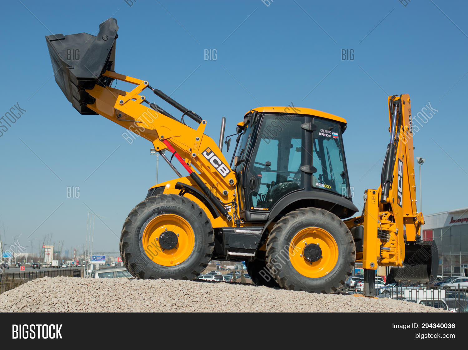 Jcb All-wheel Drive Image & Photo (Free Trial) | Bigstock