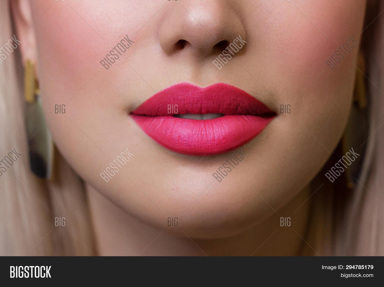 Close Woman S Lips Image Photo Free Trial Bigstock