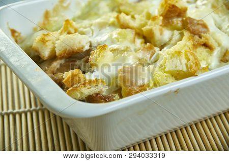 Crock Pot Chicken Stuffing Casserole