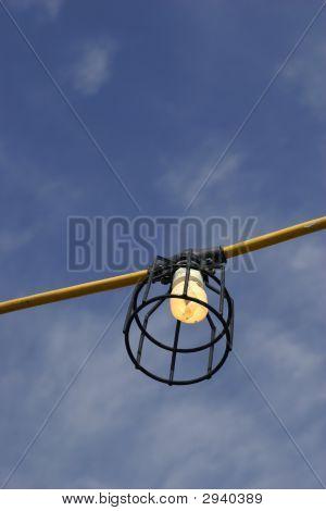 Light Bulb In The Sky