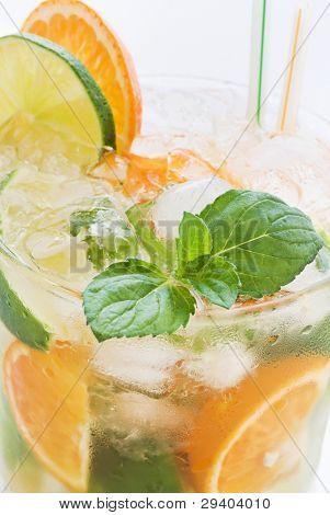 Orange Lime Caipirinha