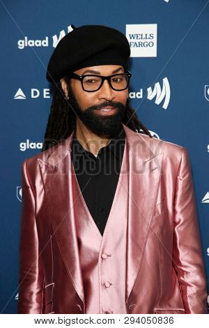 LOS ANGELES - MAR 28:  Ty Hunter at the 30th Annual GLAAD Media Awards at the Beverly Hilton Hotel on March 28, 2019 in Los Angeles, CA
