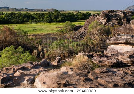 Outback Rocks and Bottomland
