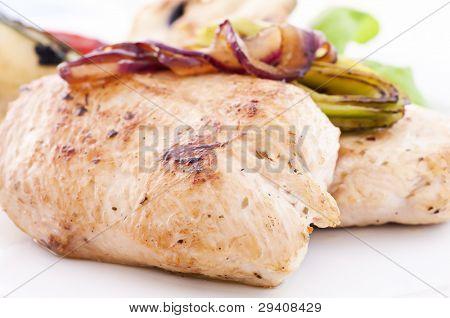 Chicken Steak with Onions