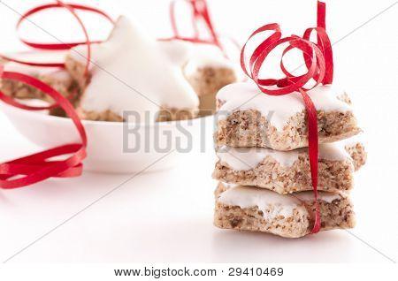 Zimtstern cookies poster