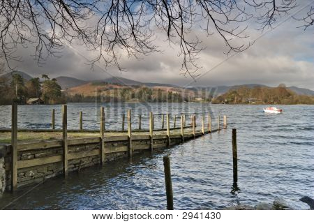 Jetty On Derwentwater