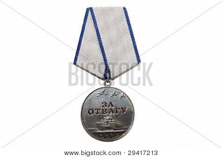 Medal about heroism