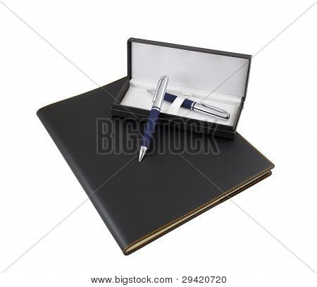 Luxury Organizer, Pen And Pencil In A Gift Box