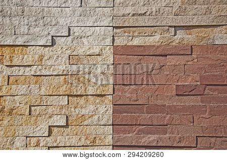 The Textures Of Natural Stone. Wall And Stone Background. Interior Background Of A Stone. Design Mod