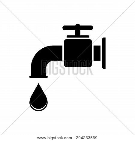 Water Tap Icon Isolated On White Background. Water Tap Icon Simple Sign. Water Tap Icon Trendy And M