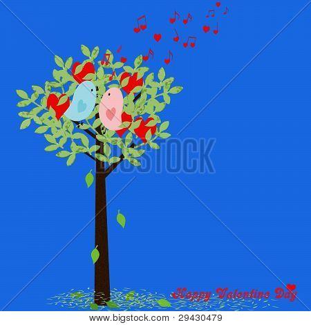 Valentine Love Birds.eps