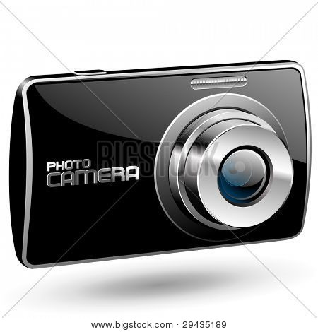 Vector Photo camera 2 (black)