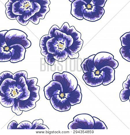 Spring Flowers Seamless Pattern Small Floral Pattern Floral Illustration And Floral Vector Pattern F