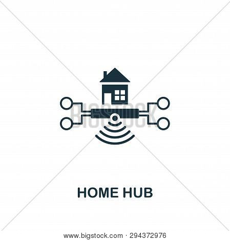 Home Hub Icon. Creative Element Design From Smart Home Icons Collection. Pixel Perfect Home Hub Icon