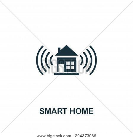 Smart Home Icon. Creative Element Design From Smart Home Icons Collection. Pixel Perfect Smart Home