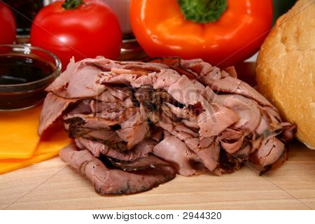 Angus Roast Beef Sandwhich Ingredients