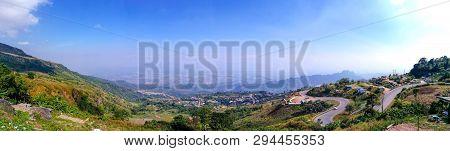 Panorama View Of Phu Thup Boek, Petchabun, Thailand.