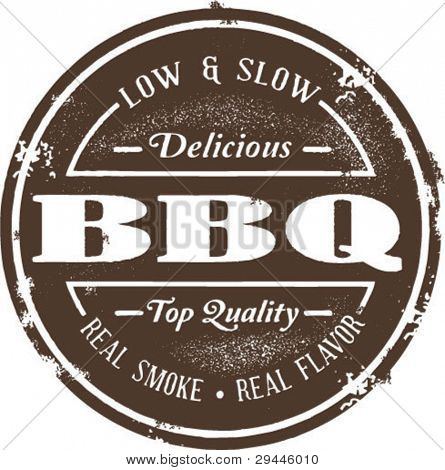 Classic Barbeque Stamp