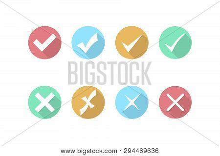 Check Mark Cross Vector & Photo (Free Trial)   Bigstock