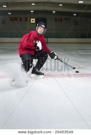 Hockey Player Determination