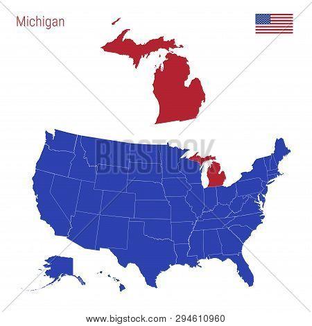 State Michigan Vector & Photo (Free Trial) | Bigstock