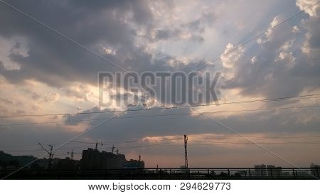 The vast blue sky and clouds sky. blue sky background with tiny clouds. blue sky panorama. blue sky beautiful. blue sky and cloud. blue sky and cloud nature. clear sky and white cloud. sky cloud. sky cloud background. sky cloud blue. sky poster