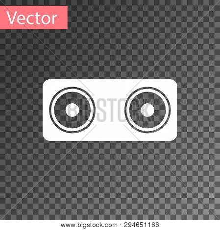 White Stereo Speaker Vector & Photo (Free Trial) | Bigstock