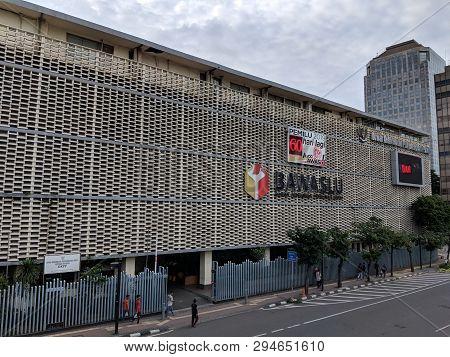 Jakarta, Indonesia - February 16, 2019: Gedung Badan Pengawas Pemilihan Umum Or Bawaslu (elections S