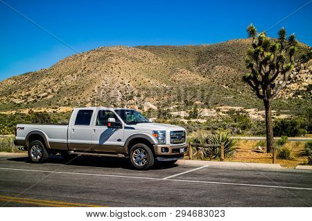 The Famous Off-road Ford Vehicle In Joshua Tree National Park
