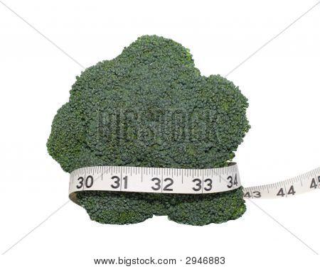 Broccoli And Tape Measure