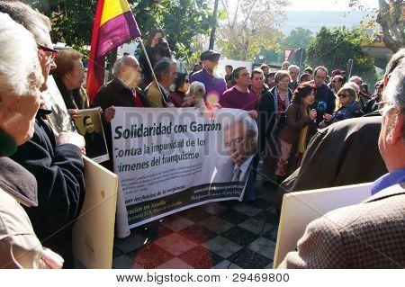 Demonstrations in Seville