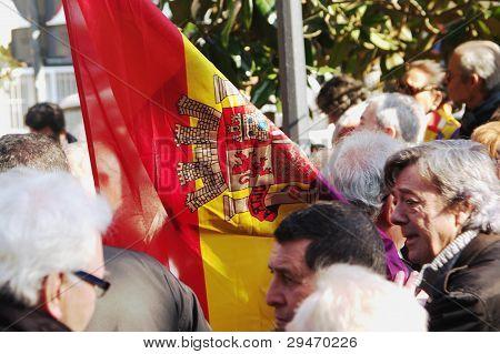 Demonstrations in Seville 2