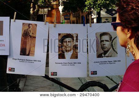 Victims of Franco's dictatorship