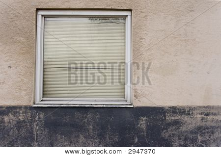Grungy Concrete Texture With Window