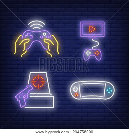 Videogame Console, Vector & Photo (Free Trial) | Bigstock
