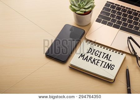 Digital Marketing Concept Background