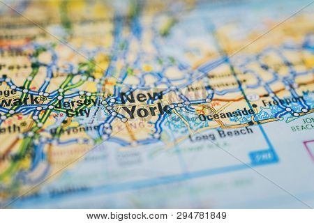 New York On Map, Atlases And Tourist Guides For Tourists