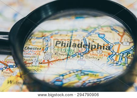 Philadelphia On Map, Atlases And Tourist Guides For Tourists