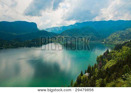 Church on Island, Lake Bled, Slovenia