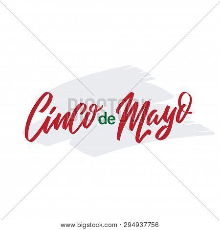 Cinco De Mayo Vector Illustration. 5 Of May Holiday Vector. Cinco De Mayo Holiday Banner. Mexican Ho